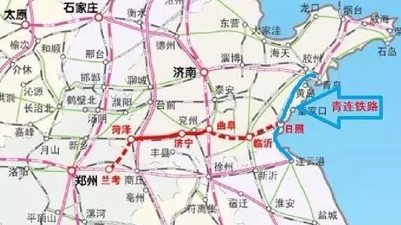 济青高铁全线开工,预计2018年底建成通车;届时,济南至青岛最快一小时